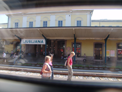 Lubiana: Rail Station